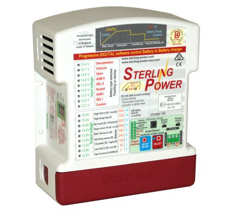 sterling marine battery charger uk sterling power probatt ultra bb1230 battery to battery