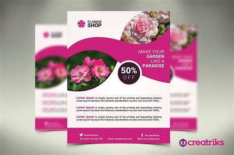 Flower Shop Flyer Template Free
