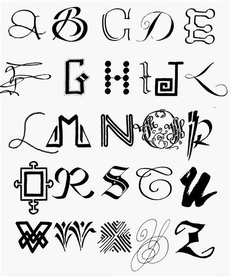 download imageswrite alphabets in a cool way cool ways to write letters of the alphabet home design