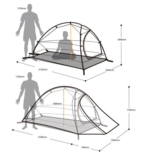Tenda Naturehike Cloud Up 2 jual tenda naturehike cloud up 1 silnylon 20d abu abu