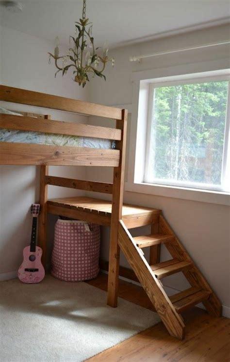 bett mit treppe für erwachsene jugendzimmer mit hochbett 90 raumideen f 252 r teenagers