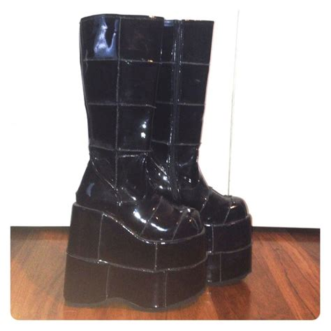 55 demonia shoes demonia stack platform boots from