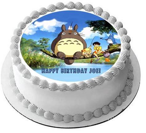 Cupcake Of The Week My Edible Totoro by My Totoro Edible Birthday Cakeorcupcake Topper