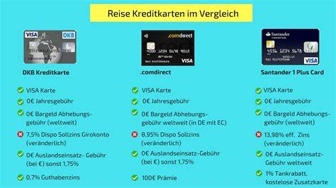 kredit karten kostenlos 3 kostenlose reise kreditkarten im vergleich