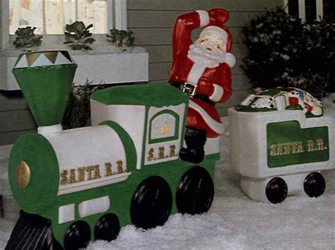 general foam plastics outdoor illuminated christmas lawn
