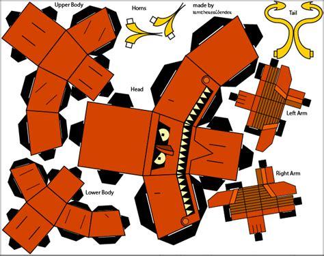 Futurama Papercraft - futurama robot cubee by iamtherealbender on deviantart