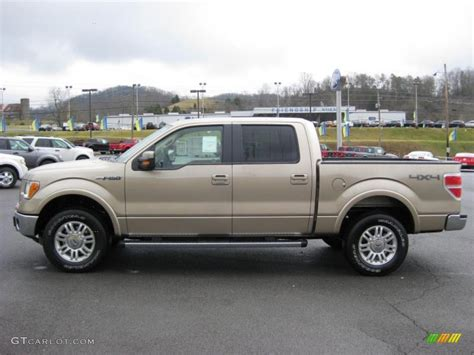 2011 pale adobe metallic ford f150 lariat supercrew 4x4 42313883 gtcarlot car color