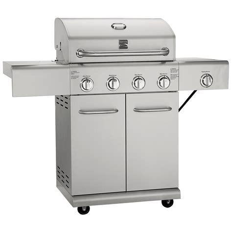 kenmore 4 burner stainless steel kenmore elite 4 burner stainless steel gas grill autos post