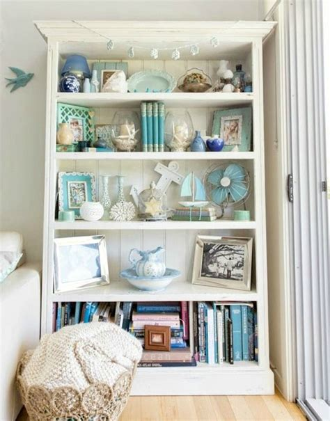 Vintage Living Room Shelves Bright Vintage Style Home Vintage Style Beaches