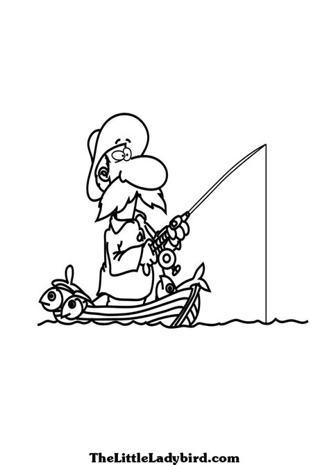coloring page fisherman coloring pictures of fishermen fishers men page free pages