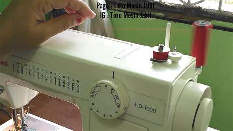 Mesin Jahit Portable Singer 1507 cara menggunakan mesin jahit portable janome hd1000