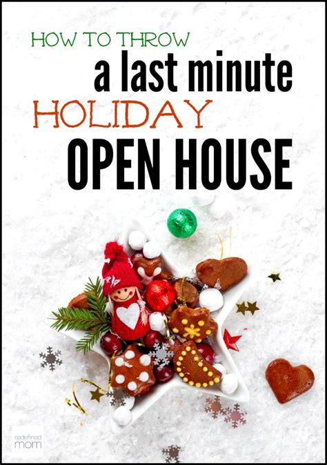 how to throw a house party how to throw a last minute holiday open house