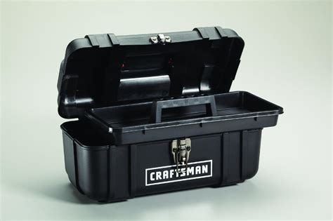 Tool Box Plastik Prohex 14 craftsman 14 quot plastic tool box with removable tray ebay