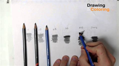 4 Drawing Pencil by Pencil Hardness The Only 4 Pencils You Need