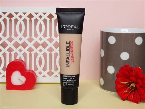 L Oreal Infallible review l oreal infallible 24h matte foundation 11