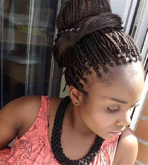 Small Braid Hairstyles by The 10 Most Beautiful Small Box Braid Hairdos