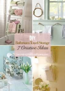 towel storage ideas for bathroom diy bathroom towel storage 7 creative ideas bathroom