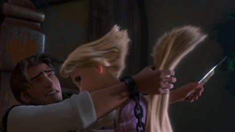 rapunzel haircut story tangled disneyoverload