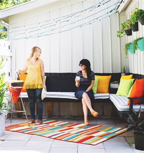 diy small outdoor party ideas home design  interior