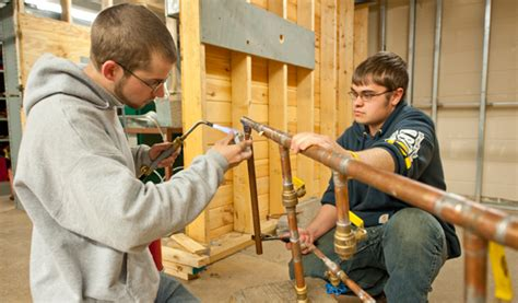 Plumbing Education Requirements suny canton heating plumbing service certificate