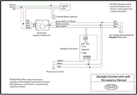 cooper occupancy sensor wiring diagram sensor switch