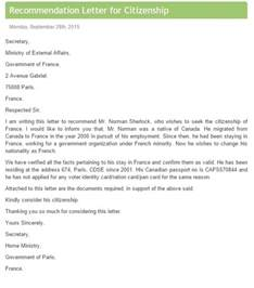 recommendation letter template for free sle letters format exles and templates