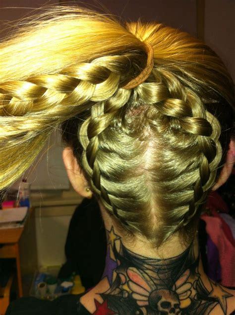 double zipper braid hair makeup pinterest zipper braid double braid  zippers