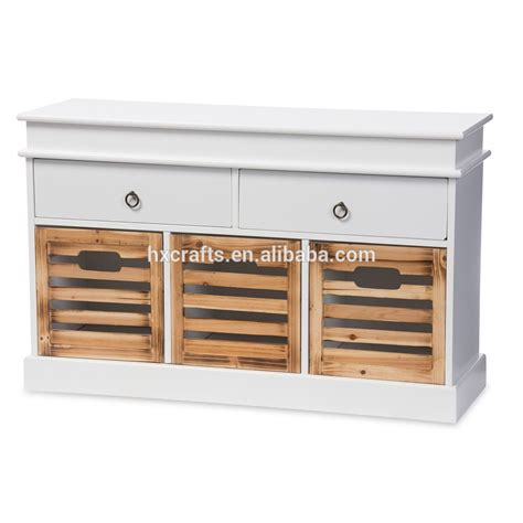 antique white storage bench shabby chic vintage solid wood antique white finished 5