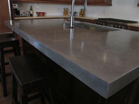 Window Over Kitchen Sink Ideas Raw Concrete Look Kitchen Island