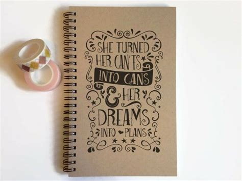 book cover design quote best 25 notebook covers ideas on pinterest