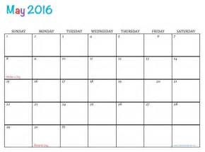 free may calendar template free printable 2016 calendar may calendar template 2017