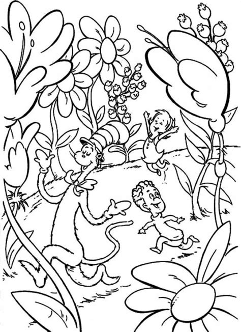 Get This Dr Seuss Coloring Pages Free Printable 31486