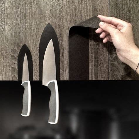 mag stickers magnetic knife sticker lets you stick your