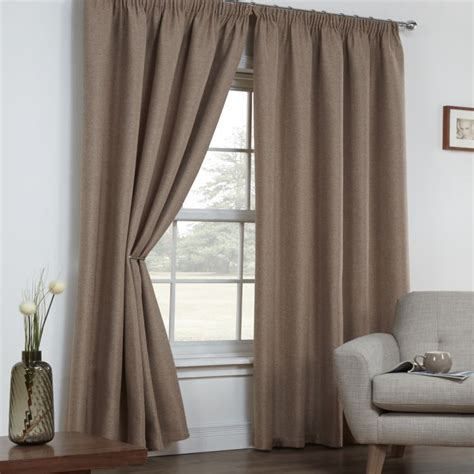 linen blackout curtains linen look textured blackout thermal tape top