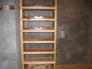 How To Build A Wine Rack In A Kitchen Cabinet How To Build A Wine Rack From Salvaged Wood