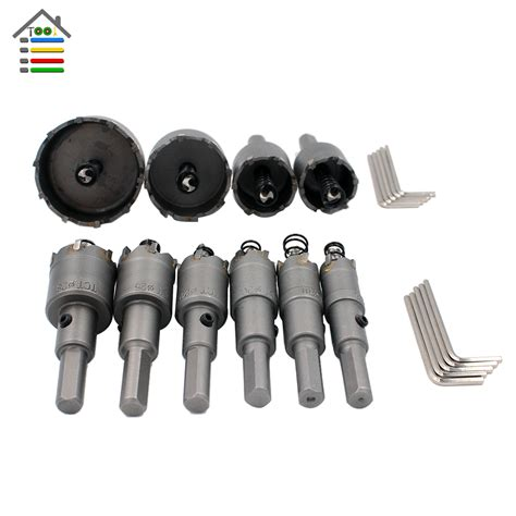 Saw Stainless Tct 16 Mm 10pc 16mm 50mm tungsten steel carbide tipped tct drill