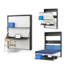 le lit bureau escamotable 160x200 ryra 3l choi achat