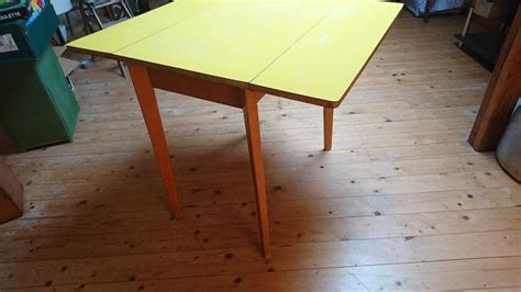 fold down dining table vintage retro 1960s formica top fold down dining kitchen