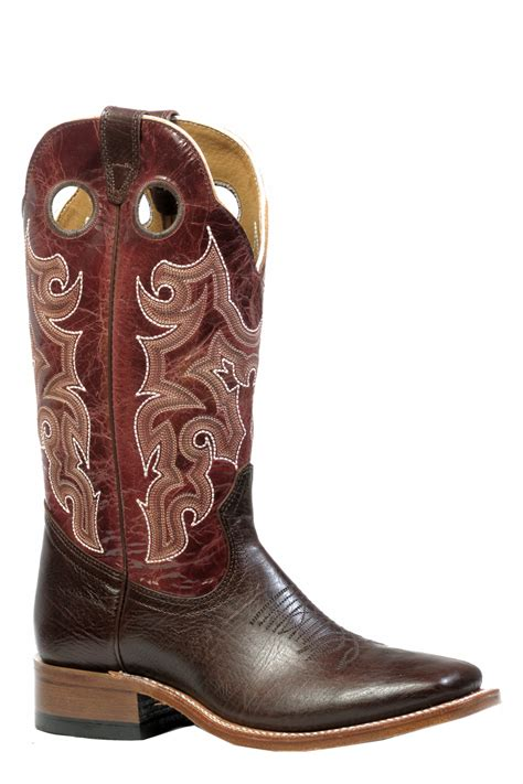 wide mens cowboy boots boulet men s cowboy boots wide square toe 4747 the ok
