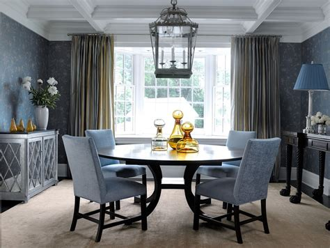 blue gray dining room ideas beautiful mirrored console table trend new york