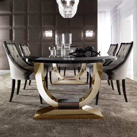 exclusive dining room furniture modern apartment luxury