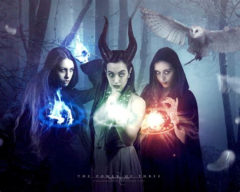 Power Of Three the power of three by dreamswoman on deviantart