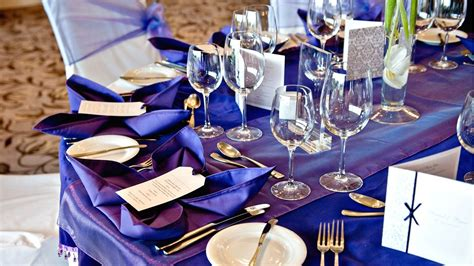 purple and silver make a glamorous combination in the 7 glamorous wedding colour combinations for a perfect wedding