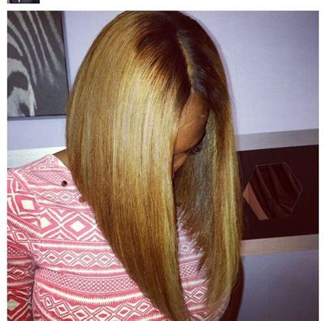 quick wevae angle bob honey blonde long angled bob hair pinterest bobs
