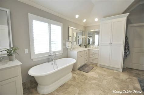 master bathrooms grey and agreeable gray on