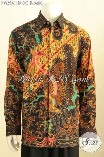Hem Batik Pekalongankemeja Batik 4 hem batik premium big size baju batik 4l mewah