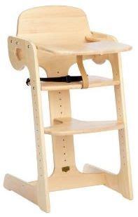 chaise haute en bois bébé chaise haute bois chaise haute b 233 b 233