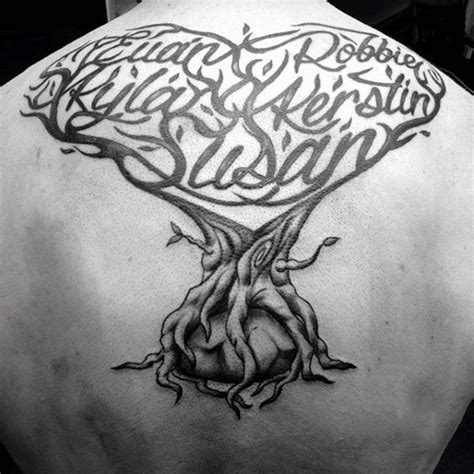 sohl family tree tattoo design 60 family tree designs for kinship ink ideas