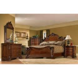 King Size Bedroom Furniture King Size 4 Wood Estate Bedroom Set By A R T Furniture