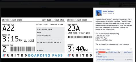 no united airlines is not giving away 100 free tickets for a photo on